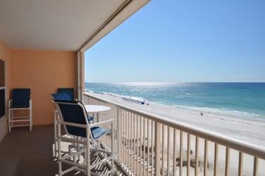Balcony Islander Beach 6009 Fort Walton Beach Okaloosa Island Vacation Rentals