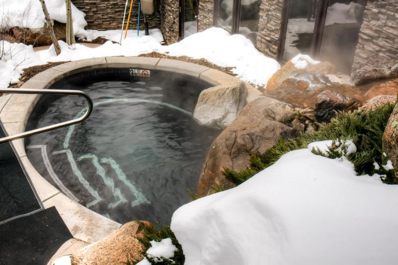 The community hot tub is always alluring