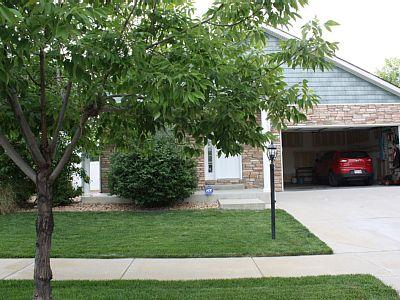 Beautiful tree lined safe neighborhood. Double car garage with separate entrance to house.