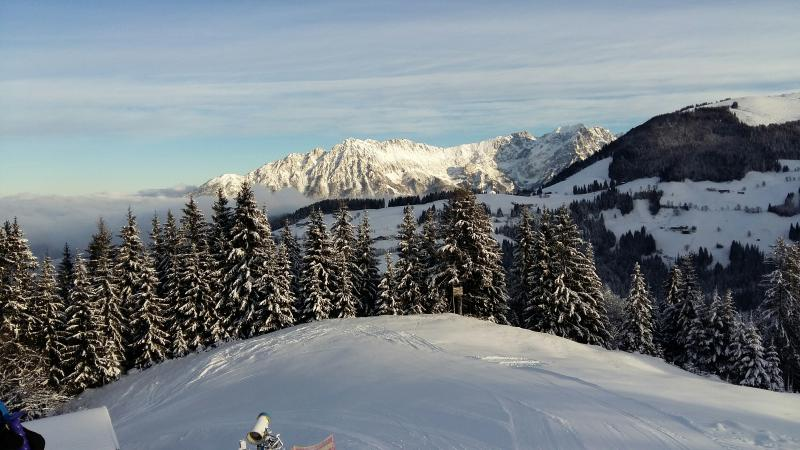 great skiing and stunning scenery