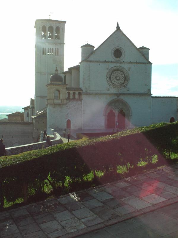 Assisi, the basilica of Saint Francis