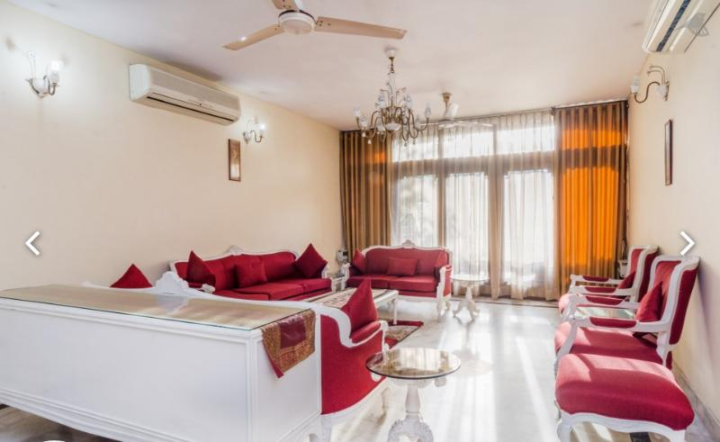 Serviced apartment or vacation rental in South Delhi, where we provide services of the cook included