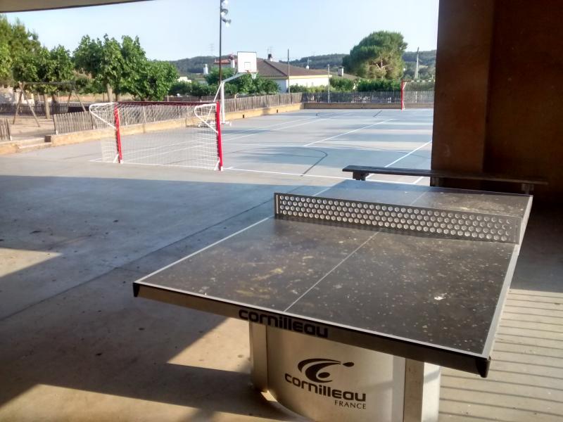 Parco giochi e ping-pong