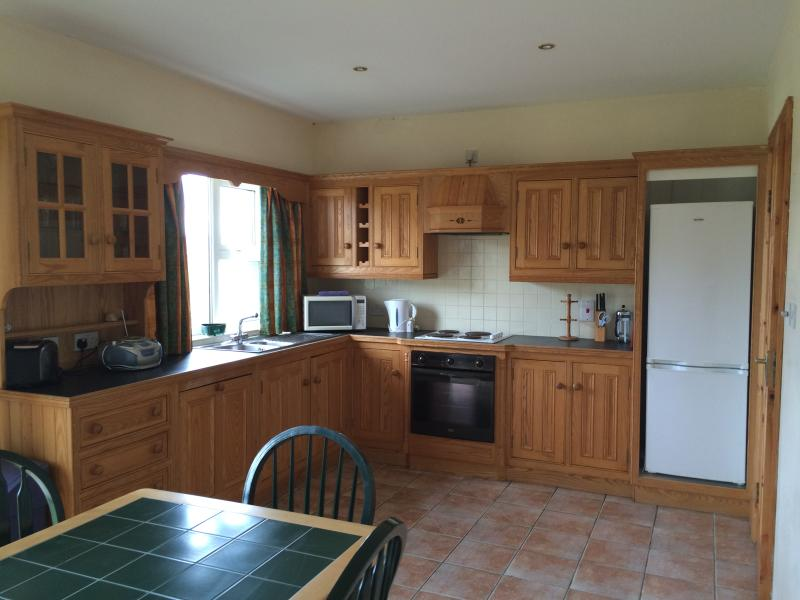 Spacious bright, well equipped kitchen