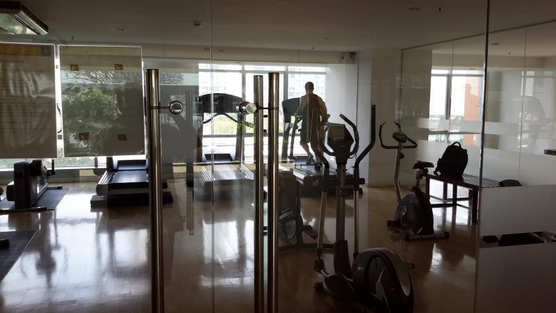 1 sala de fitness