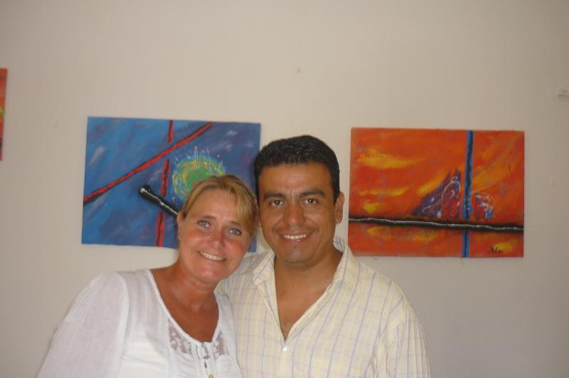 The owners. Maria & Memo