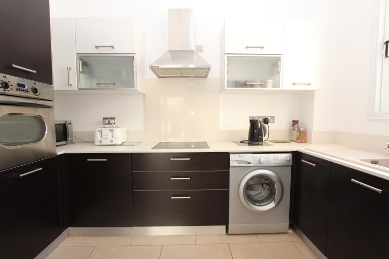 Fully equipped kitchen with everything you could need