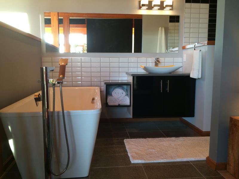 salle de bain loft à l'étage