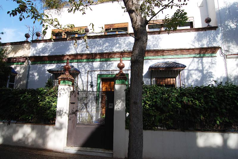 In Jerez, a Rooftop Garden at Casa las Viñas, holiday rental in Jerez De La Frontera