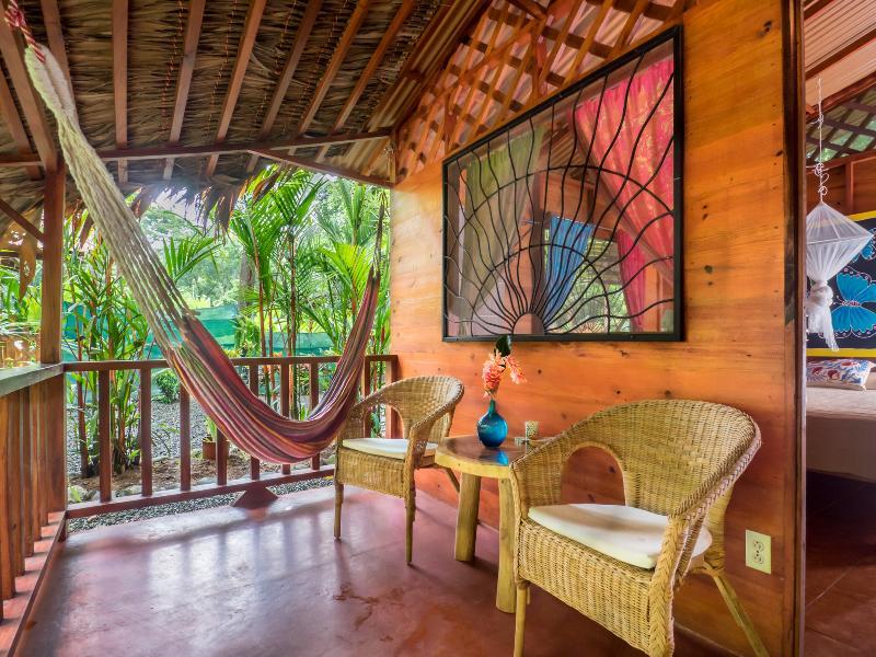 Porch, private relax area