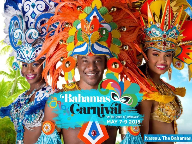 The Bahamas Junkanoo Carnival,(a unique Bahamian festival)  takes place in May.