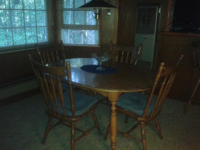 Mesa de comedor en planta alta
