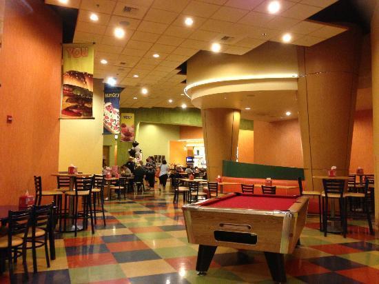 Arcade for kids at Black Oak Casino