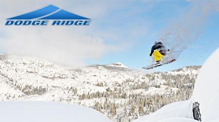 Dodge Ridge Ski Resort just 30 minutes away