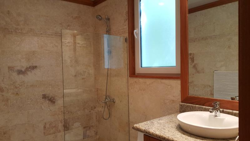 Second bedroom private bath with shower