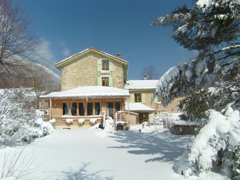Grande maison dans le Vercors, location de vacances à Vassieux-en-Vercors