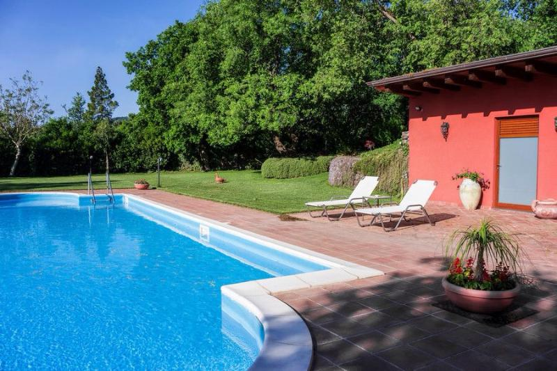Our fantastic swimmingpool with saltet water