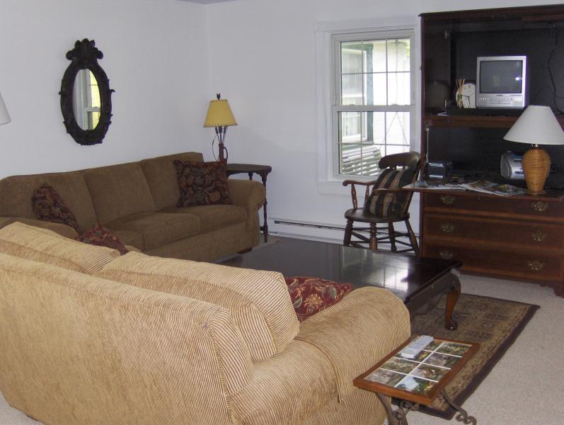 Sala TV al piano superiore
