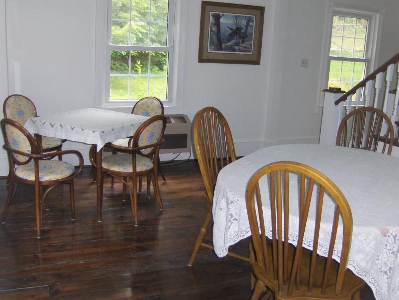 Sala da pranzo può ospitare 8