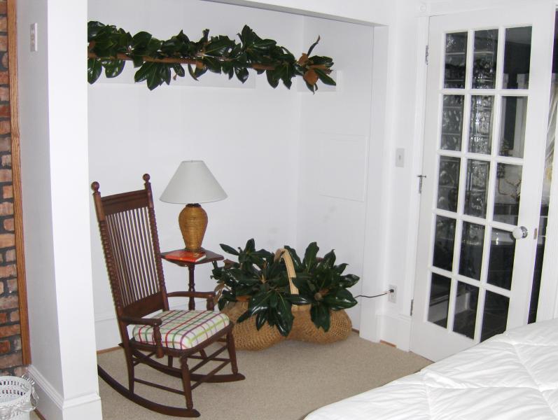 Camera da letto principale & porta del bagno