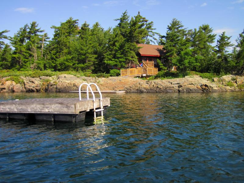 McGregor Bay Island Cottage Rental – semesterbostad i Northeastern Ontario