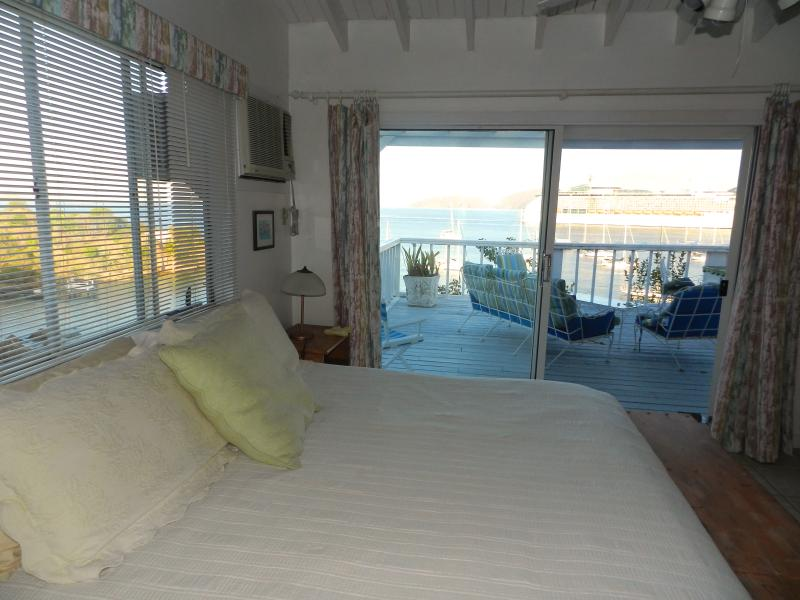 Master bedroom, King size bed, comfortable mattress with quality linens