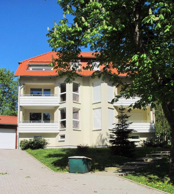 Haus Hercynia im Sommer