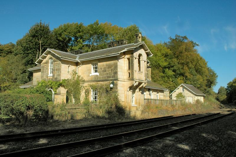 The most beautiful station on the York-Scarborough line