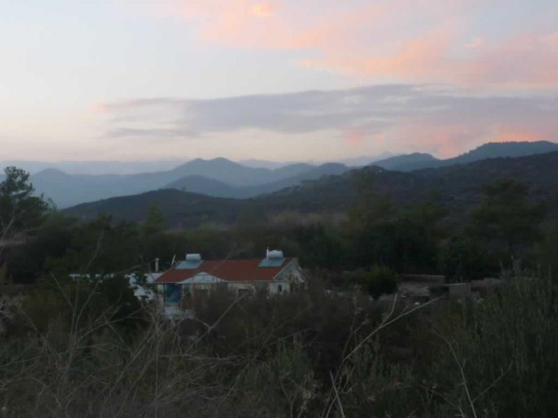 el final de otro día perfecto en Chipre Country Holidays