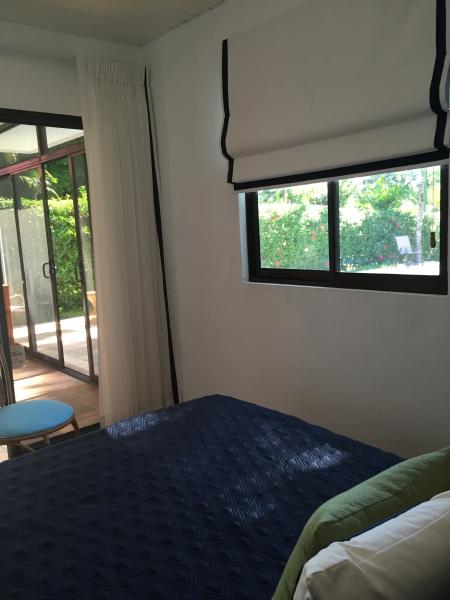 New third bedroom has view of pool and backyard