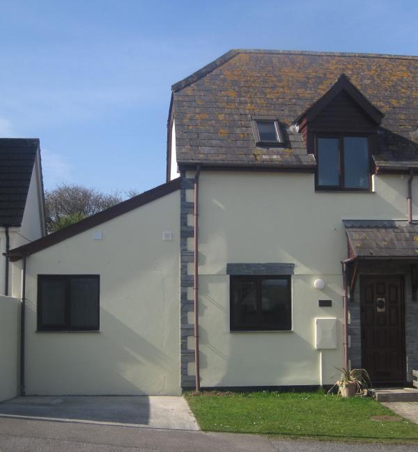 Terraza de Penrose final 4 * casa rural en tranquila cerca de Boscastle