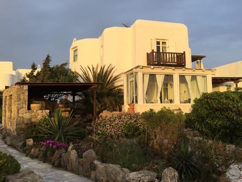 A casa Vista externa