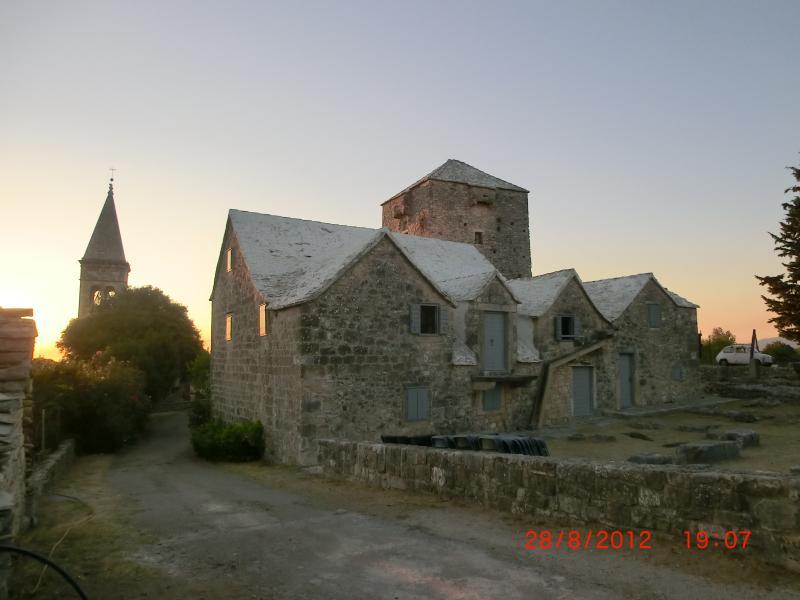 A 'must-see', the ancient village of Skrip, ca 3km from Splitska