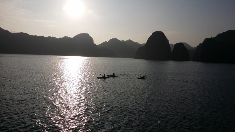 small group adventure tours of Cat Ba island