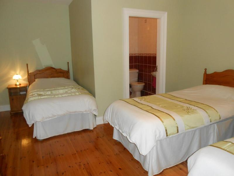 Triple ensuite room, with tea/coffee making facilities