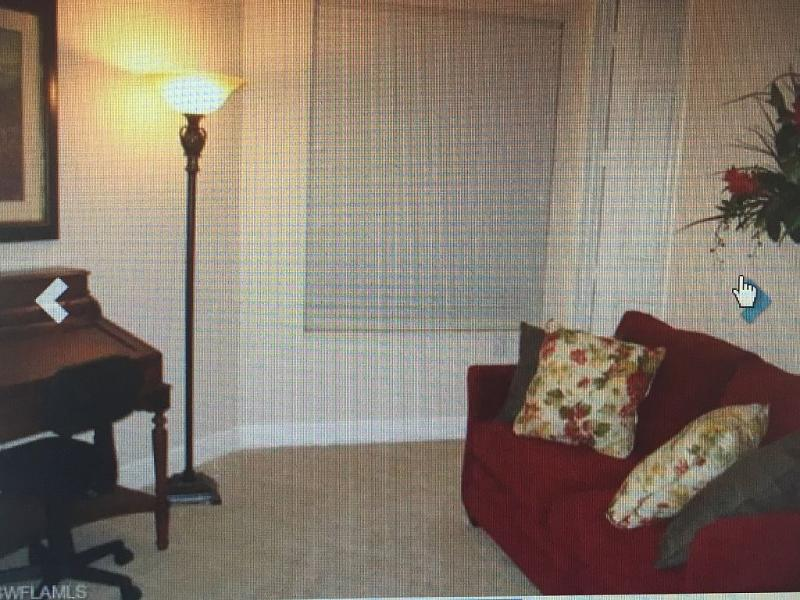 DEN WITH QUEEN SLEEPER SOFA HAS A PRIVATE BATH AND LARGE CLOSET.