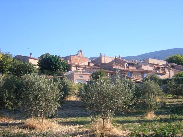 The Provencal Hamlet of Les Baux.