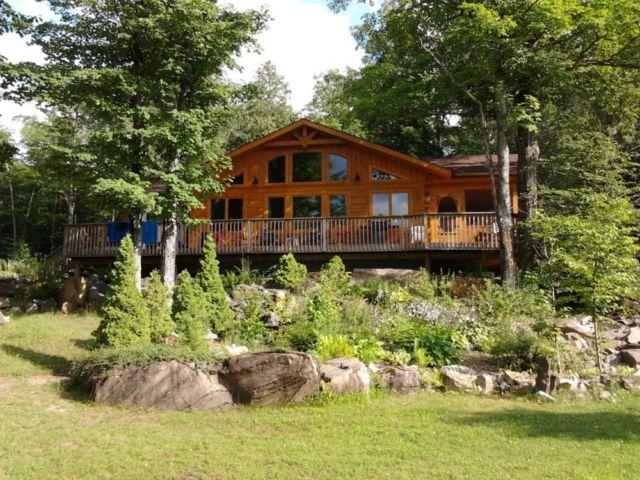 Cool Luxury Log Cottage At Resort In Frontenac Area Updated 2019 Interior Design Ideas Inamawefileorg
