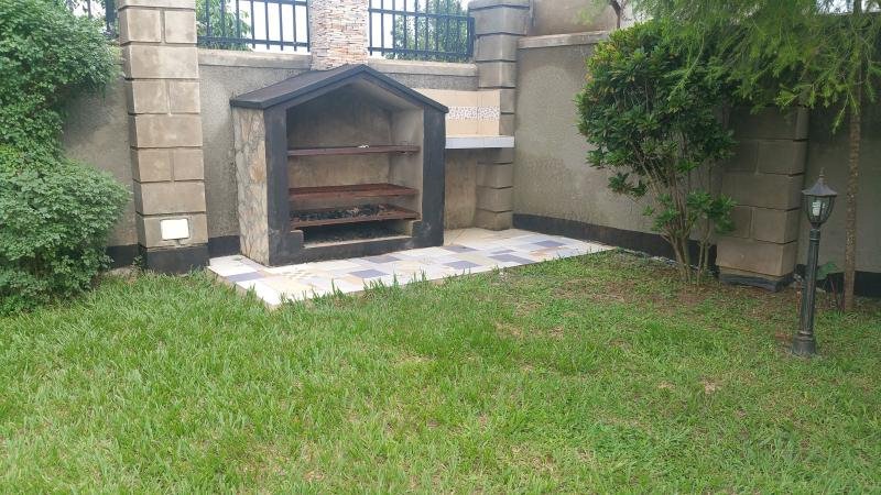 private outdoor barbecue area