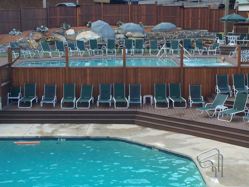 Family Pool & Adult Pool Deck at the Community Center
