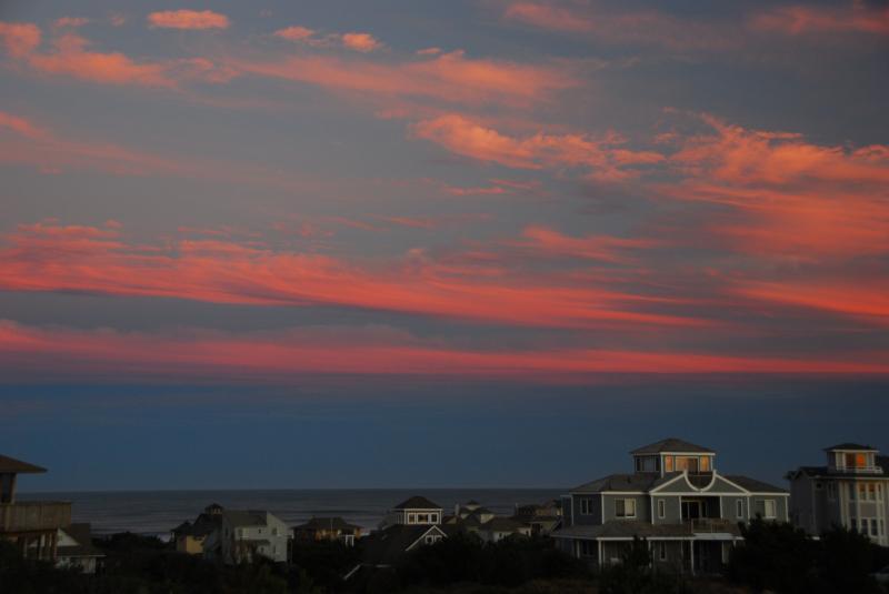 Fabulous sunrise and sunset views!
