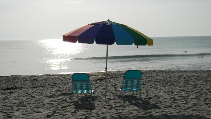 This can be your spot on Paradise Beach :)