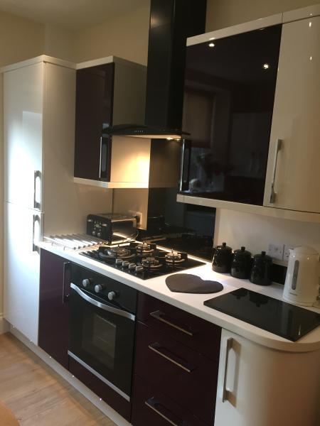 Open plan kitchen / lounge area