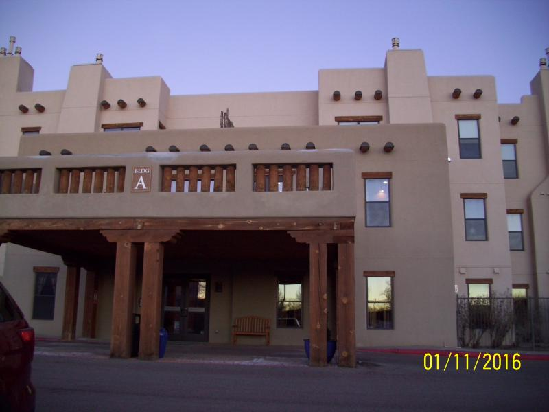 The front of The Alameda complex.