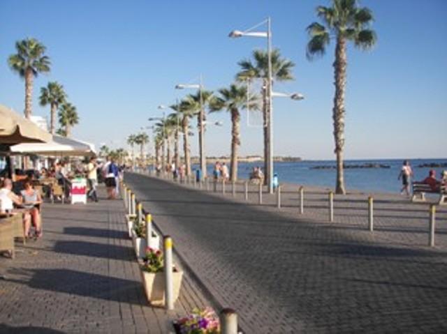 Paphos Harbour area.