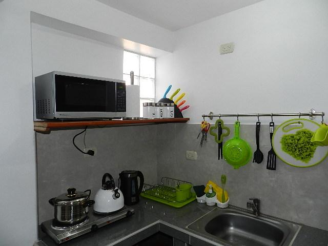 particular equipped kitchenette
