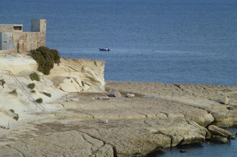 Spiagge rocciose di Marsascala.
