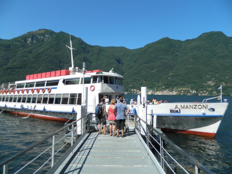 Boat service at 900 metres.