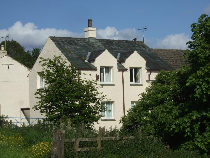 Stable Cottage from across the beck
