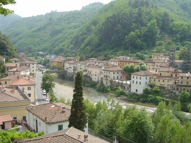 View of Ponte a Serraglio